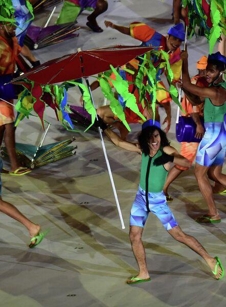Церемония открытия Паралимпийских игр в Рио