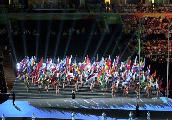 Флаги стран-участниц Паралимпиады-2016 в Бразилии