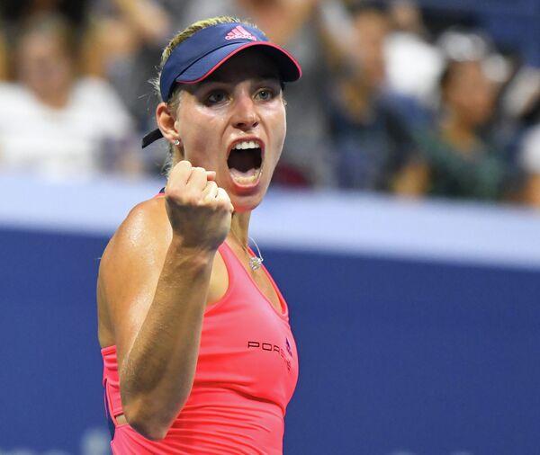Немецкая теннисистка Ангелика Кербер
