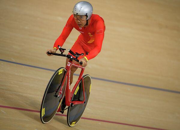 Китайский спортсмен Гуй Хуа Лян