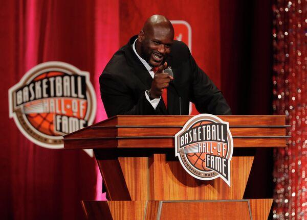 Член Зала славы баскетбола, известный в прошлом американский баскетболист Шакил О'Нил