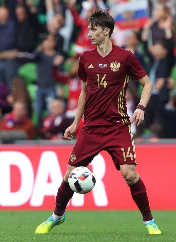 Защитник сборной России Илья Кутепов