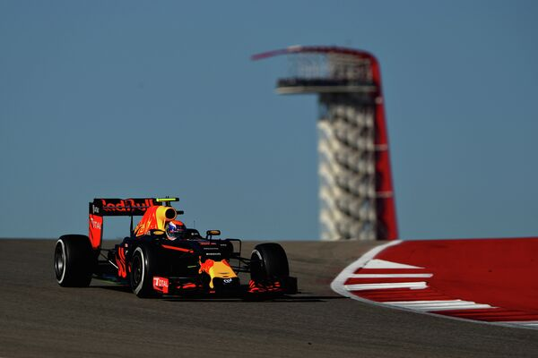 Пилот Ред Булл Макс Ферстаппен на Гран-при США
