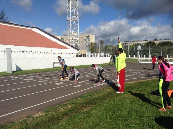 На соревнованиях ГТО в Удомле