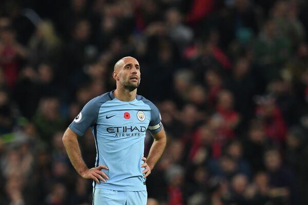 Защитник Манчестер Сити Пабло Сабалета