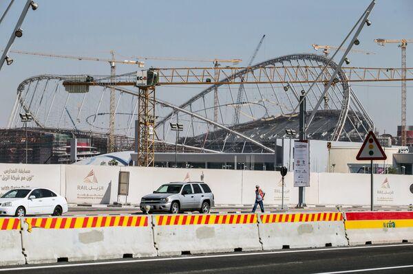 Стадион Халифа в Дохе (Катар)