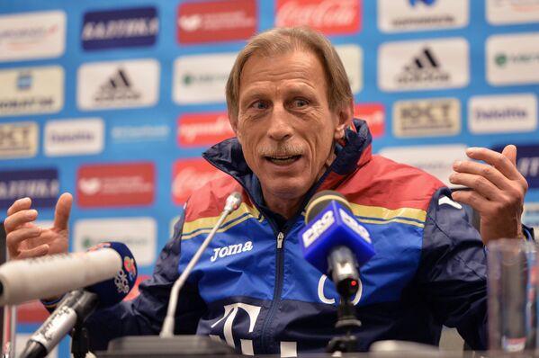 Главный тренер сборной Румынии по футболу Кристоф Даум