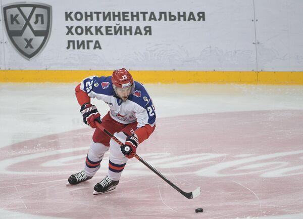 Нападающий ЦСКА Владимир Жарков