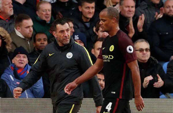 Бельгийский защитник Манчестер Сити Венсан Компани