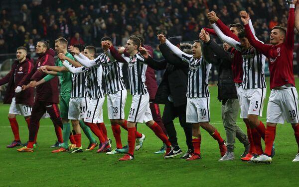 Футболисты франкфуртского Айнтрахта