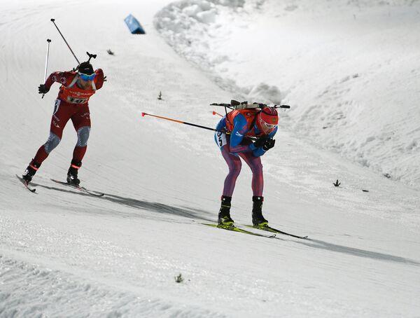 Антон Бабиков (Россия) (справа) и Андрей Расторгуев (Латвия)