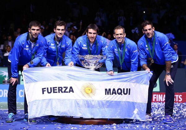 Теннисисты сборной Аргентины