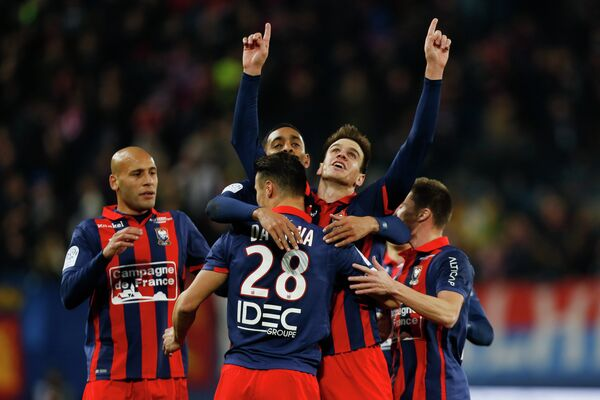 Футболисты французского Кана