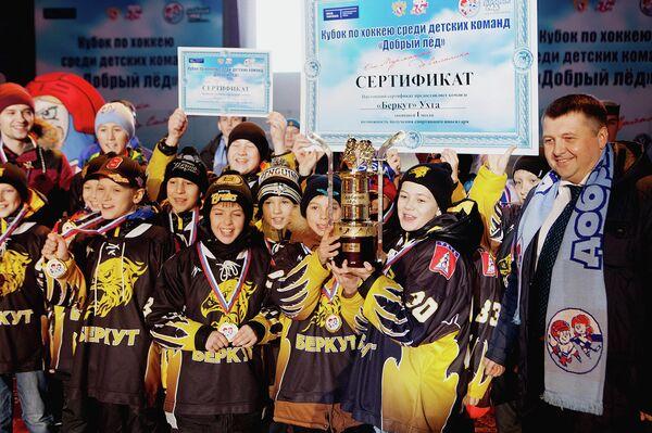 Хоккеисты Беркута