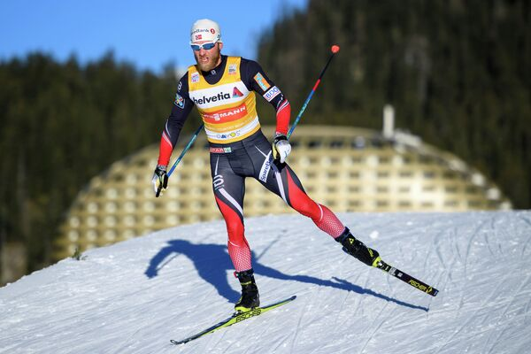 Норвежский лыжник Мартин Йонсруд Сундбю