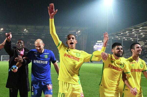 Футболисты французского Нанта