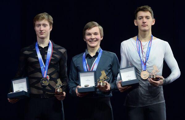 Александр Самарин, Михаил Коляда и Максим Ковтун (слева направо)