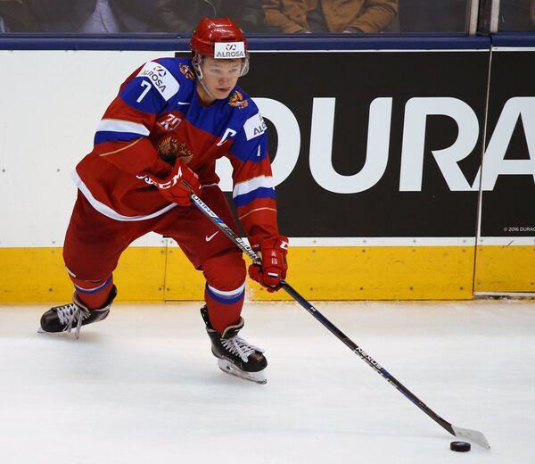 Нападающий сборной России Кирилл Капризов