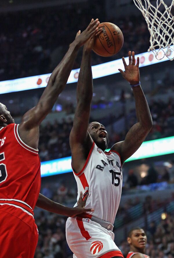 Канадский баскетболист Энтони Беннетт