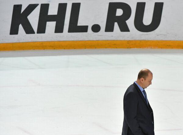 Главный тренер Сибири Андрей Скабелка