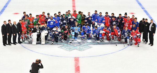 Участники мастер-шоу Матча звезд Континентальной хоккейной лиги