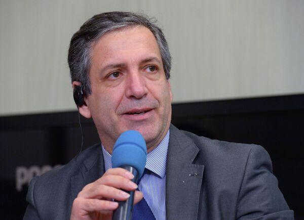 Президент Европейской федерации тяжелой атлетики (EWF) Антонио Урсо