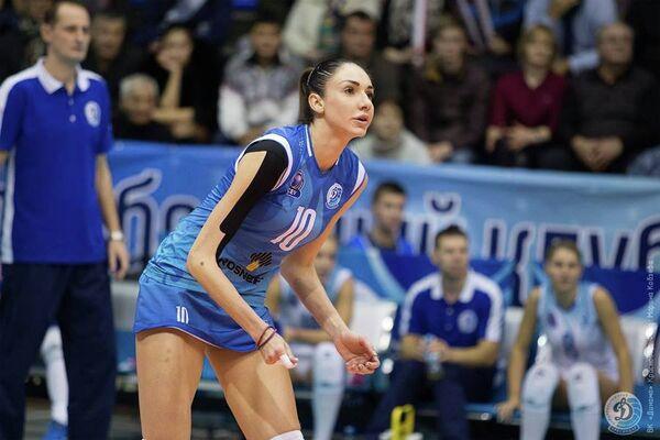 Волейболистка краснодарского Динамо Елена Гендель