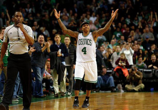Защитник клуба НБА Бостон Селтикс Айзея Томас