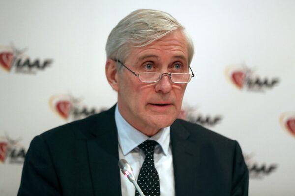 Глава рабочей группы Международной ассоциации легкоатлетических федераций (IAAF) по вопросу восстановления членства Всероссийской федерации легкой атлетики (ВФЛА) Руне Андерсен
