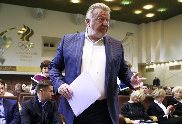 Президент Федерации спортивной гимнастики России Василий Титов