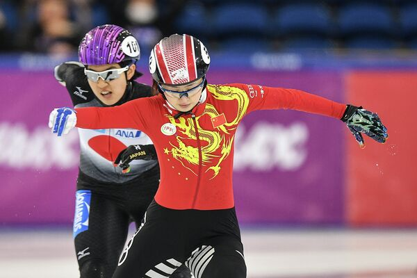 Слева направо: Лю Ян (КНР) и Сионе Каминага (Япония)