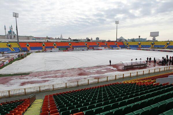 Стадион Центральный в Казани