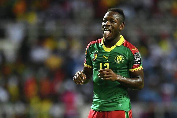 Нападающий сборной Камеруна Кристиан Бассогог