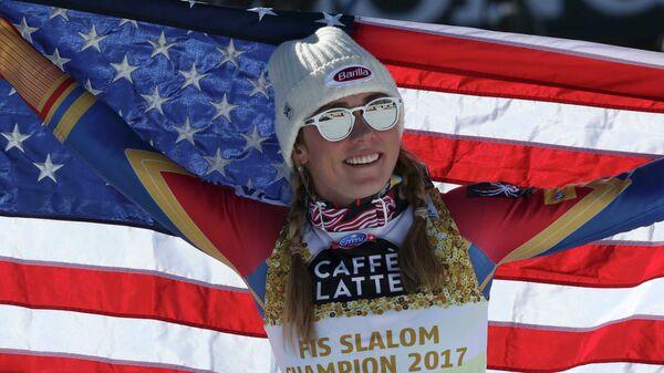 Американская горнолыжница Микаэла Шиффрин