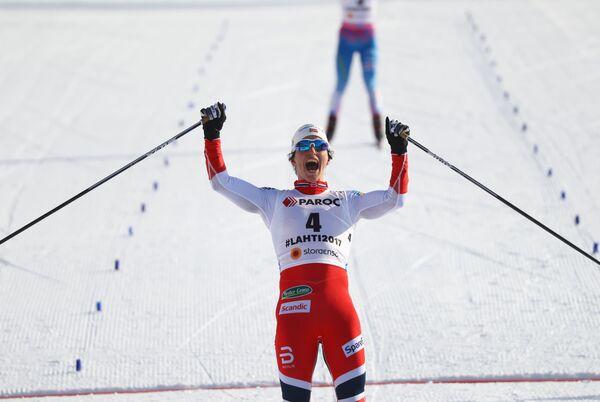 Норвежская лыжница Марит Бьёрген