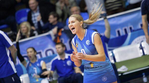 Либеро краснодарского волейбольного клуба Динамо Мария Бибина