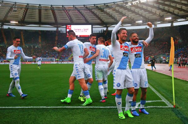 Футболисты Наполи