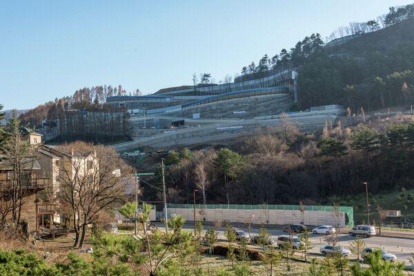 Трасса для скелетона в Пхенчхане