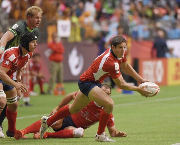 Регбисты сборной Чили