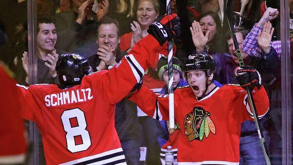 Хоккеисты Чикаго Блэкхокс