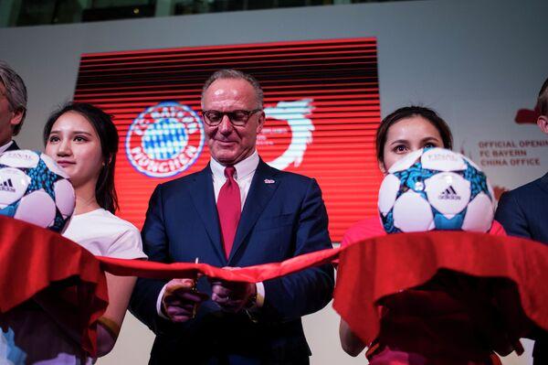Председатель правления Баварии Карл-Хайнц Румменигге