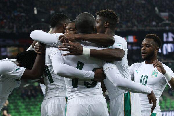 Игроки сборной Кот-д'Ивуара