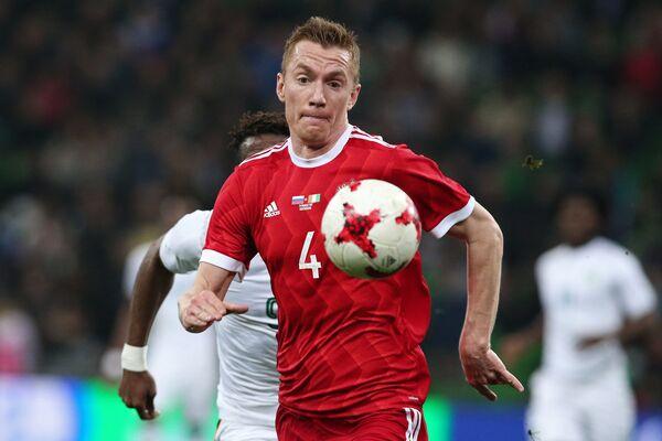 Защитник Ахмата и сборной России Андрей Семенов
