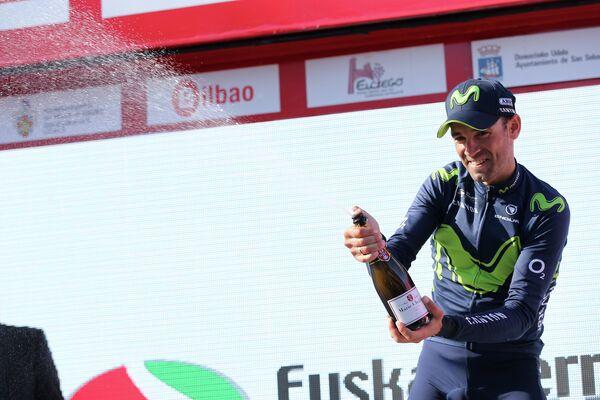 Испанский велогонщик Алехандро Вальверде