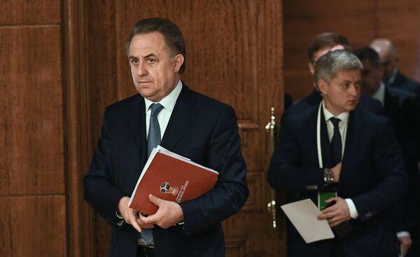 Виталий Мутко (слева)