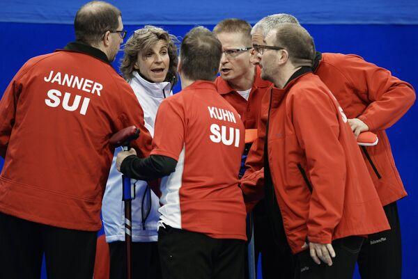 Керлингисты сборная Швейцарии