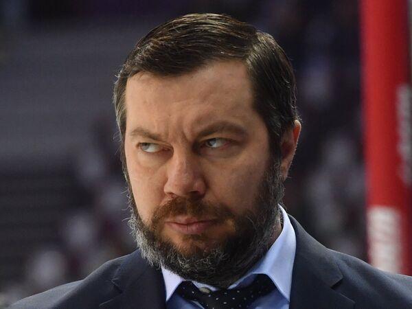 Главный тренер Металлурга Илья Воробьёв