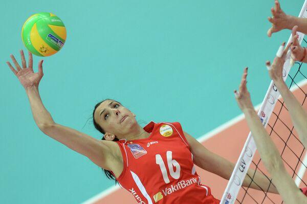 Волейболистка Вакифбанк Милена Рашич