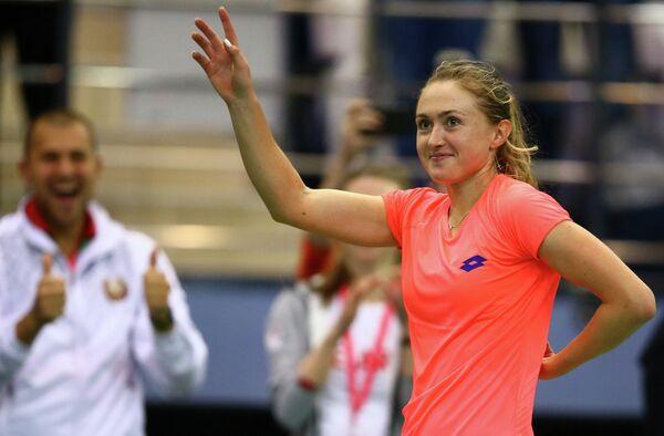 Белорусская теннисистка Александра Соснович
