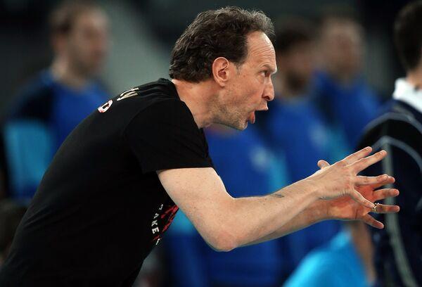 Главный тренер ВК Перуджа Лоренцо Бернарди